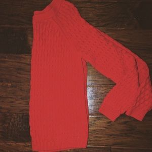 Old navy tomato red sweater